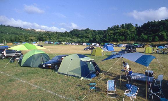 キャンプ場サイト