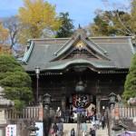 成田山新勝寺の紅葉を見てきました