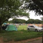 三度目の成田ゆめ牧場キャンプでは燻製やカレーに挑戦(6月