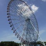 葛西臨海公園の観覧車と海遊び