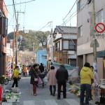 早起きして勝浦朝市で干物を買ったり食べ歩いたり