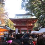 元旦は鹿島神宮で初詣!駅から混雑していたけど屋台が楽しい