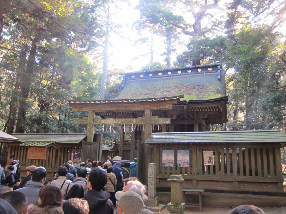 鹿島神宮初詣