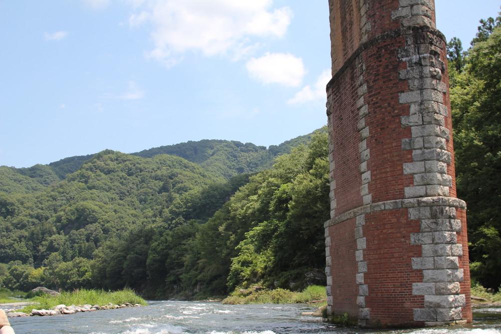 長瀞オートキャンプ場と長瀞ライン下りC (22)
