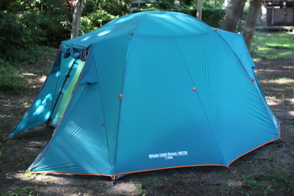 コールマンのテント・ウインズライトドームとヘキサタープセット (9)