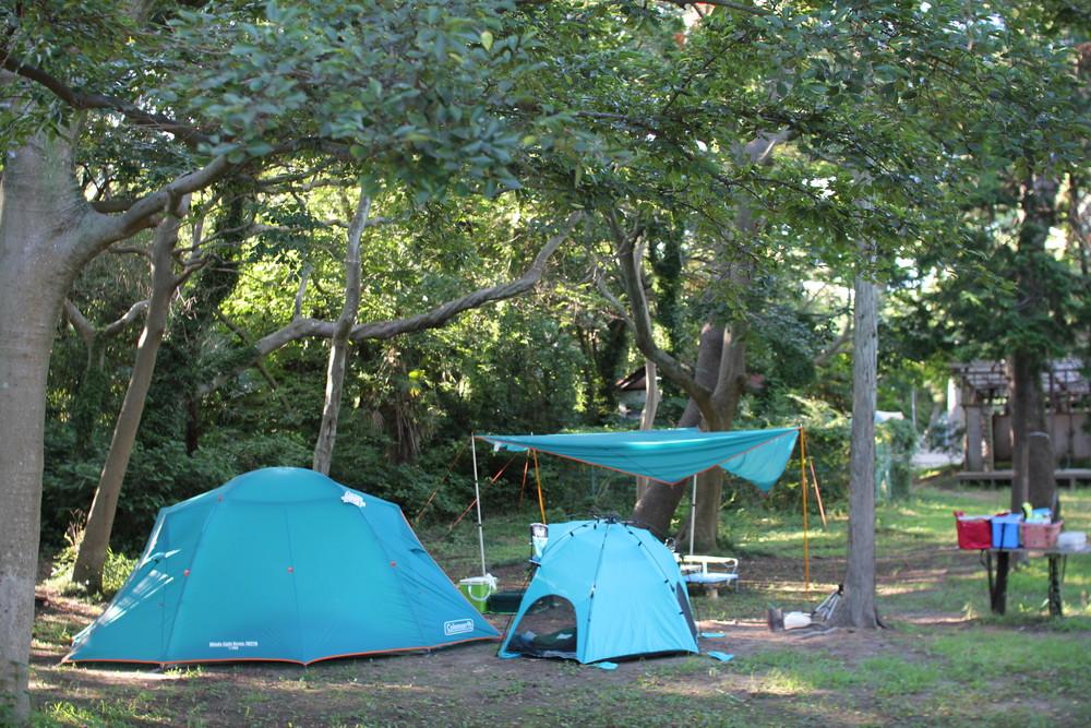 コールマンのテント・ウインズライトドームとヘキサタープセット (18)