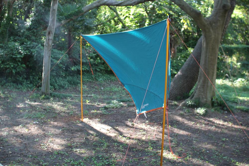 コールマンのテント・ウインズライトドームとヘキサタープセット (16)