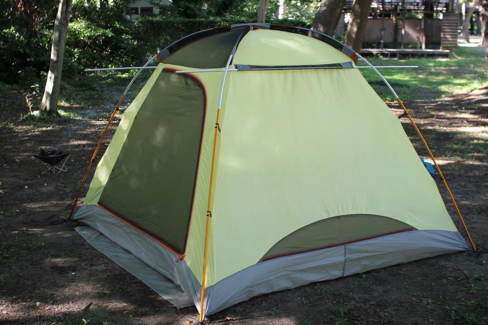コールマンのテント・ウインズライトドームとヘキサタープセット (4)