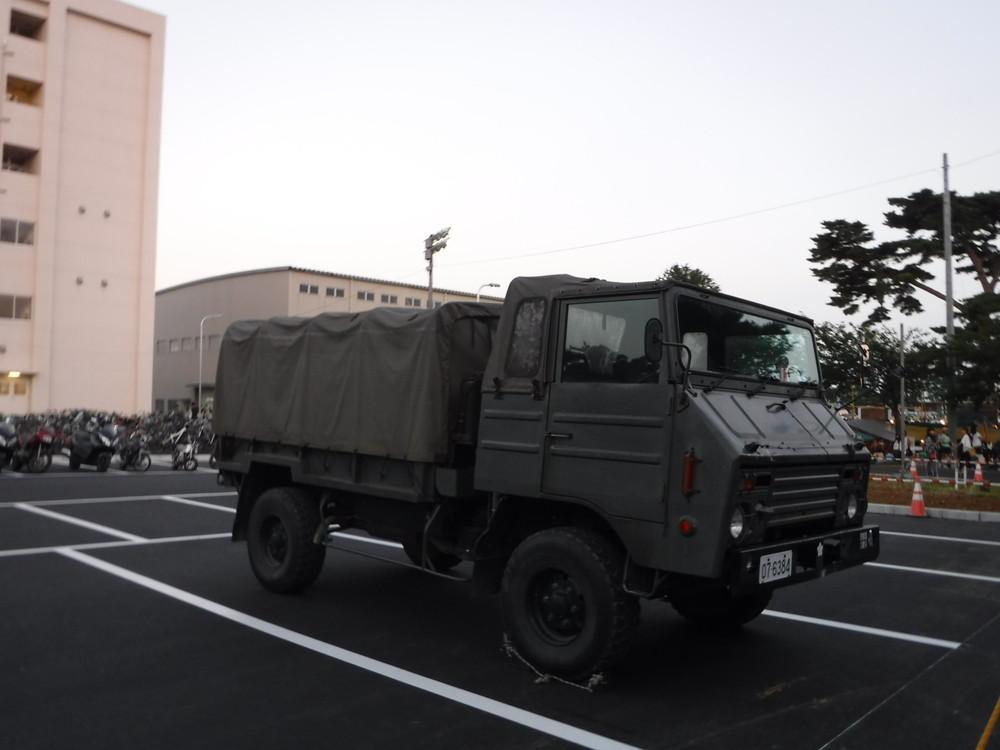 習志野駐屯地夏まつり花火自衛隊 (7)