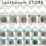 stores.jp手作り刺繍のバッジなどのLanthanumSTORE(ランタンストア)をオープンしました