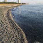 海浜幕張海浜公園の夕日を見た