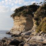 沖ノ島公園を探検して噂の洞窟が見つかった?