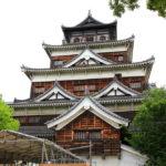 広島城天守閣に登ってきました