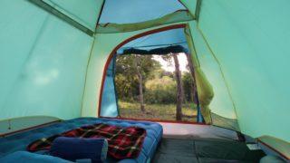 テント泊で快適な睡眠・ぐっすり眠る為にエアーベッドを導入してみた結果