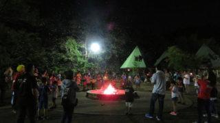 清和県民の森 キャンプ・ロッジ 1泊川遊び(9月
