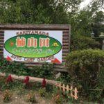 柿山田オートキャンプガーデンは川と緑に囲まれるファミリーにはうれしいキャンプ場でした@8月