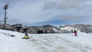 湯沢パークスキー場スキー&スノボデビューの旅 一日目