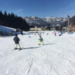 湯沢パークスキー場スキー&スノボデビューの旅 二日目